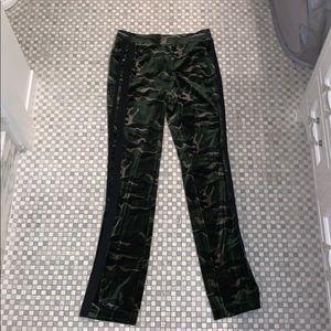 Pam & Gela Pants - Velvet Camo Track Pant